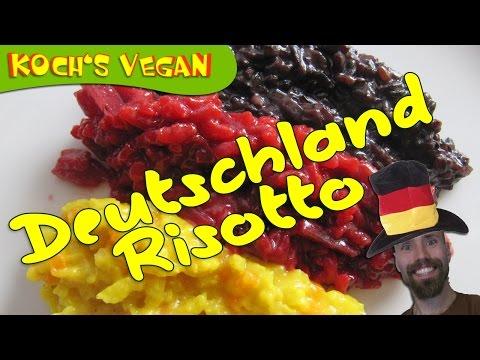 Deutschland Risotto - Risotto kochen deutsch - Italien - vegane Rezepte von Koch's vegan