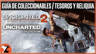 Uncharted 2: El Reino de los Ladrones - Guía de Coleccionables (Tesoros y Reliquia)