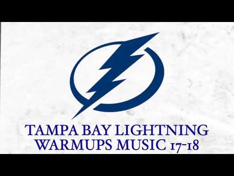 Tampa Bay Lightning Warmups Music 17-18