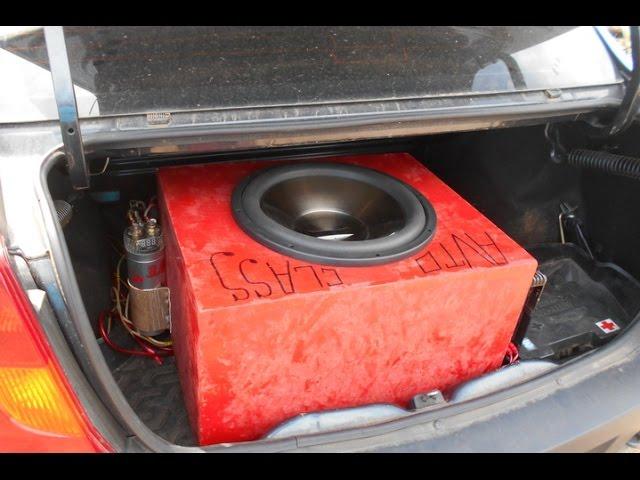 ✔Как звучит Alphard Machete MS-15D4 в ЗЯ — 70 литров от моноблока Calcell