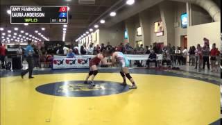 53 kg CQF - Amy Fearnside (TMWC) vs Laura Anderson (Brea WC)