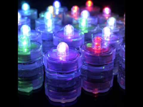 20 Submersible Led Tea Light Great For Party Centerpiece