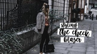 Ways To Style: The Check Blazer | Copper Garden