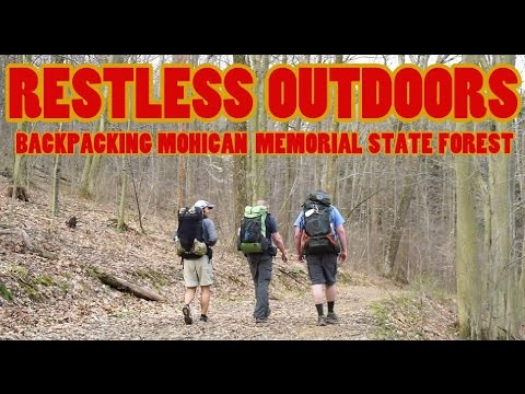 BACKPACKING MOHICAN MEMORIAL STATE FOREST
