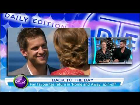 Lisa Gormley and Dan Ewing return to Summer Bay