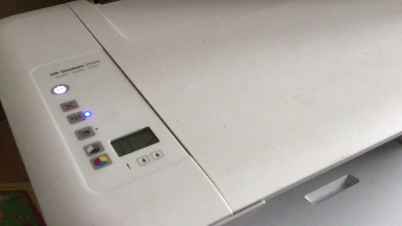 Connect Hp Deskjet 2540 Wirelessly To Talktalk Router