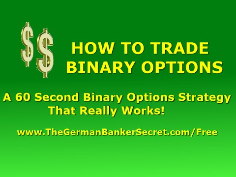 60 second binary option strategies that work