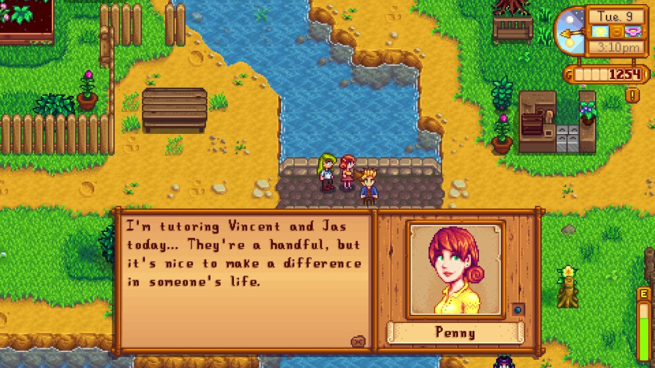 Who is Penny - Stardew Valley