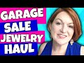 Garage Sale Jewelry Haul 2018 -  Gold Jewelry, Sterling Silver, James Avery