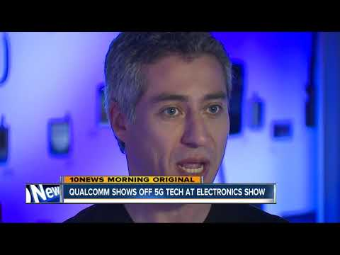 Qualcomm shows off 5G Tech at Consumer Electronics Show