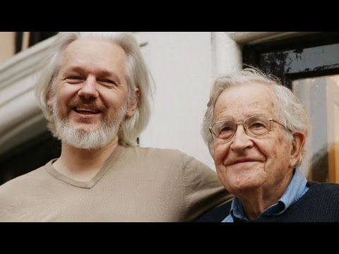 "Chomsky: CIA Targeting of Julian Assange of WikiLeaks is ""Disgraceful Act"""