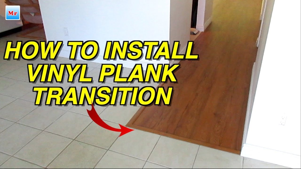 how to easy install laminate flooring transition strips with track on wood or concrete diy