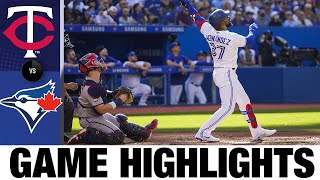 Twins vs. Blue Jays Game Highlights (9/18/21) | MLB Highlights