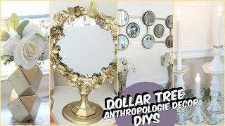 DOLLAR TREE ANTHROPOLOGIE DECOR DIY
