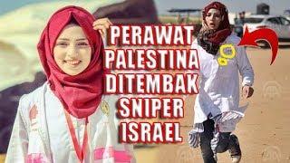 Video Detik-detik Keberanian Razan Ashraf Najjar Sebelum Tertembus Peluru Sniper Israel