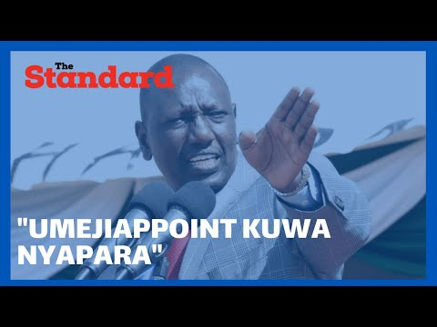 DP Ruto discredits those attacking him for not attending key state function