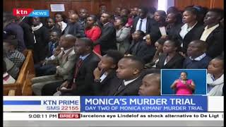 Monica Kimani's murder trial enters the second day