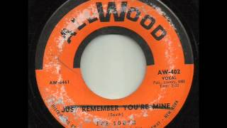 JOE SOUTH  Remember youre mine  ALLWOOD