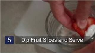 Cream Cheese & Marshmallow Fruit Dip : Cream Cheese & Marshmallow Fruit Dip Recipe