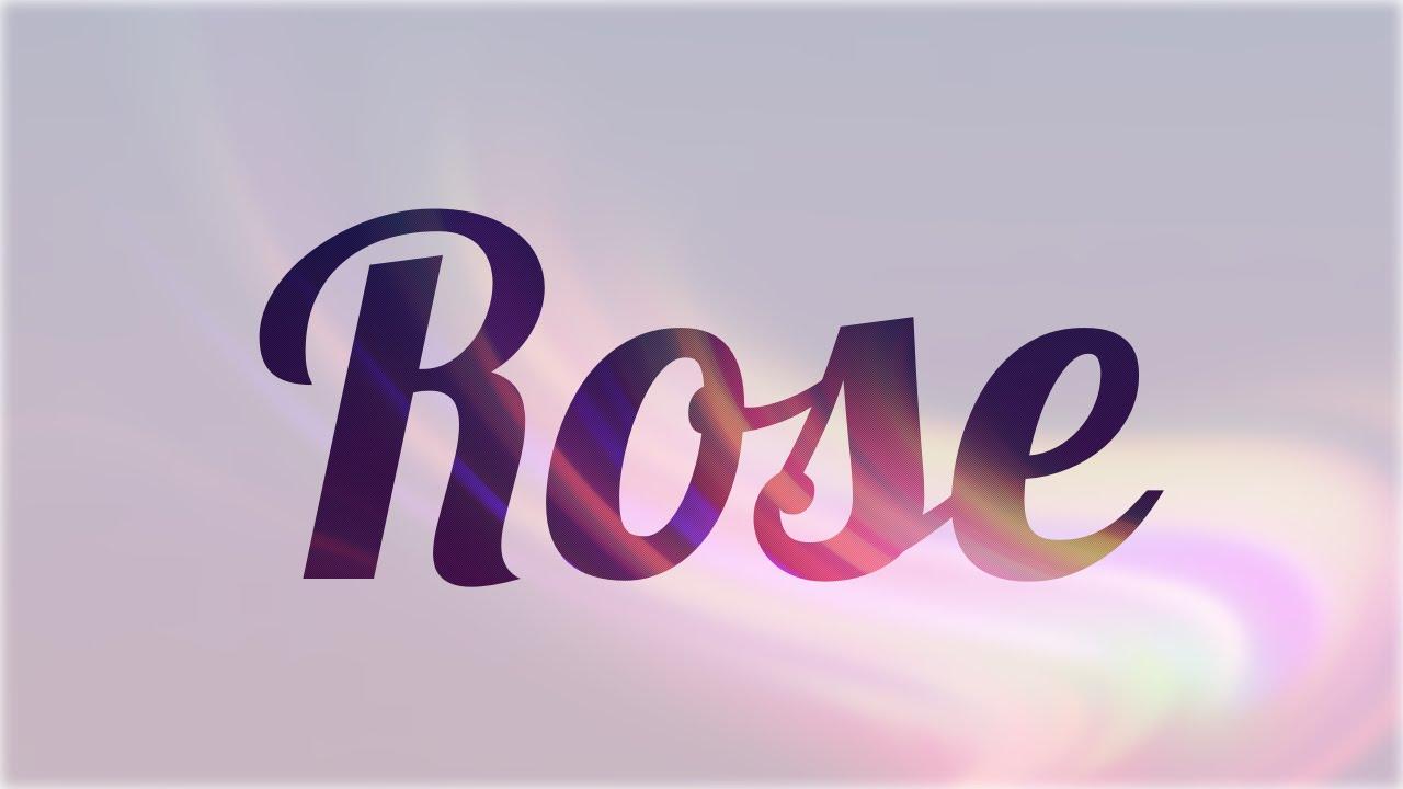 significado de rose nombre ingl s para tu bebe ni o o ni a origen y personalidad youtube. Black Bedroom Furniture Sets. Home Design Ideas
