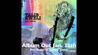 """Audio: Talib Kweli """"I'm On One"""" (Gutter Rainbows Out Now)"""