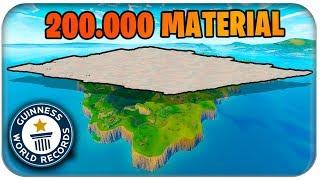 200.000 MATERIAL 🚧🏗️ DIE GESAMTE MAP ZUBAUEN | Fortnite Playground Mode Deutsch German