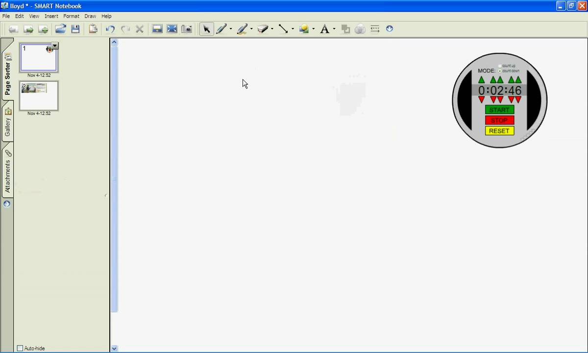 Smartboard Notebook Toolbar 5 min Demo - YouTube