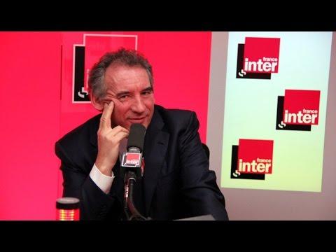 """François Bayrou : """"Une guerre de tranchées entre droite et gauche"""", France Inter"""