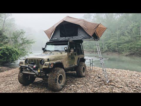 EPIC Ozarks Overlanding Trip Pt. 2 – With My Jeep TJ