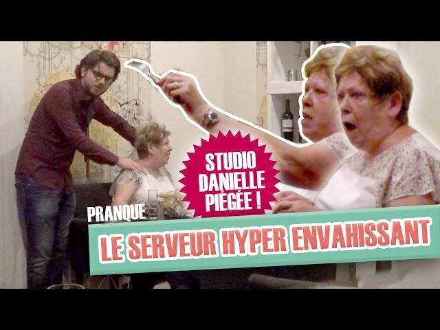 Pranque : Le serveur hyper-envahissant (Greg Guillotin) VS Studio Danielle