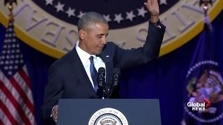 President Barack Obama's farewell address (full speech) Free HD Video