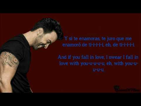 Luis Fonsi - Sola (Letra And English Translation Lyrics)