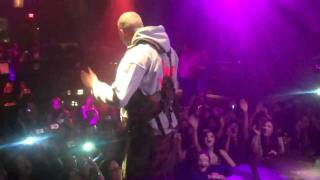 CHRIS BROWN doing the DOUGIE at PLAYHOUSE HOLLYWOOD