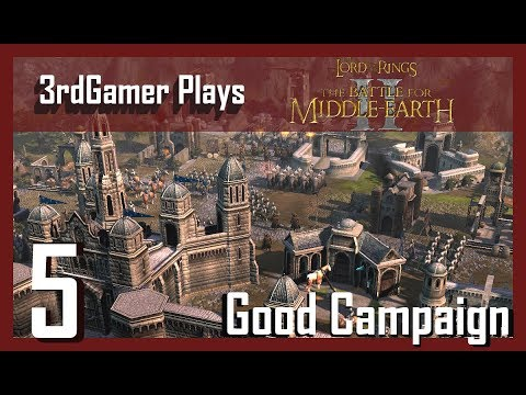 """Battle for Middle Earth II--Good Campaign 5 - """"Grey Havens"""""""