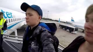 Lot TUI Warszawa Madera 2017 Enterair - Boeing 737-800 - Niebezpieczne lądowanie na Maderze