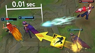 Timing The PERFECT Flash - Amazing Flash Moments - League of Legends