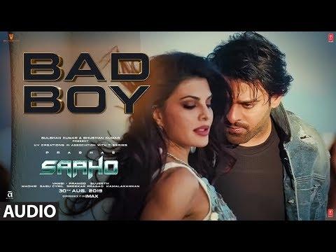 Full Audio: Bad Boy   Saaho   Prabhas, Jacqueline Fernandez   Badshah, Neeti Mohan
