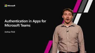Authentication in Apps for Microsoft Teams