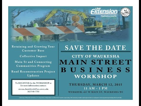 Small Businesses, Road Construction & Community Support