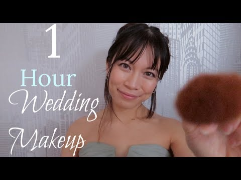 Your Big Day💍 ASMR Relaxing Wedding Makeup & Pampering (1 HOUR)
