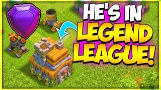 Another Town Hall 7 in LEGEND LEAGUE in Clash of Clans | Best Push Army