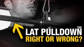 Lat Pulldown Lowdown (WHICH WAY IS BEST?)