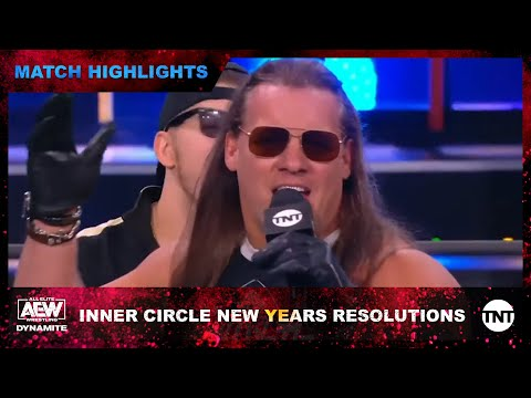 Inner Circle Announces Their New Year's Resolution on AEW Dynamite