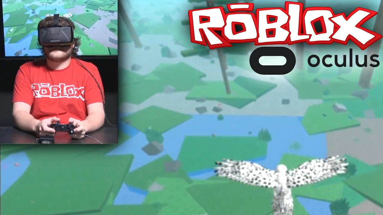 Roblox On Oculus Rift Vr Hands On Gameplay Ceo Interview Youtube