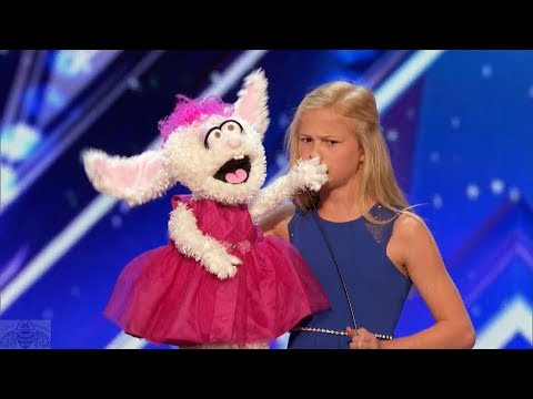 Thumbnail: America's Got Talent 2017 Darci Lynne 12 Year Old Singing Ventriloquist Full Audition S12E01