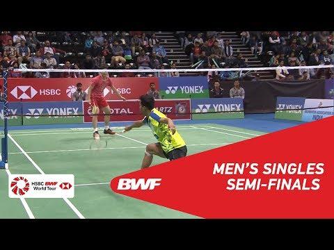 MS | SHI Yuqi (CHN) [4] vs Iskandar ZULKARNAIN (MAS) | BWF 2018