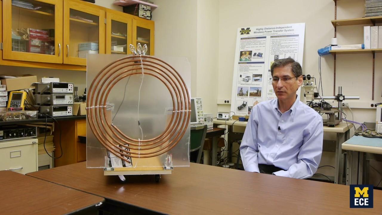 Prof  Amir Mortazawi Introduces Robust Wireless Power Transfer