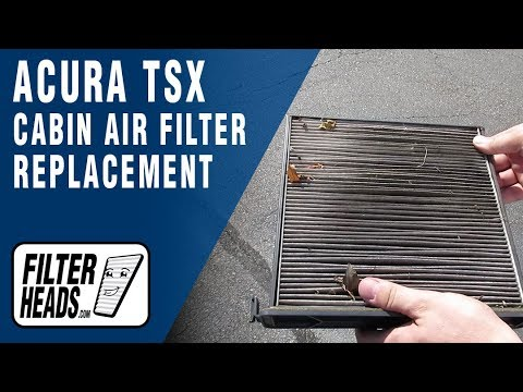 How to Replace Cabin Air Filter 2006 Acura TSX