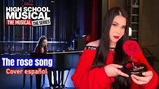 The rose song-Olivia Rodrigo/Amanda Flores (Cover español latino) #Hsmtmts