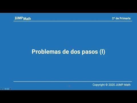 2. Unidad 11. Problemas de dos pasos I